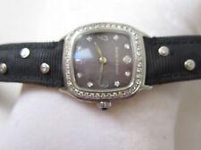 david yurman diamond mop 25mm sterling watch diamonds on band