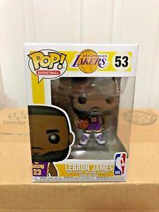 Details about FUNKO POP! NBA LEBRON JAMES PURPLE JERSEY #53 LA LAKERS FANATICS EXCLUSIVE NEW