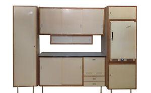 dekorartive 50er / 60er Jahre Küche , vintage Küchenblock ...