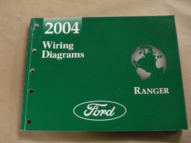 2004 Ford Ranger Truck Workshop Service Manual Wiring Diagrams Oem Book For Sale Online