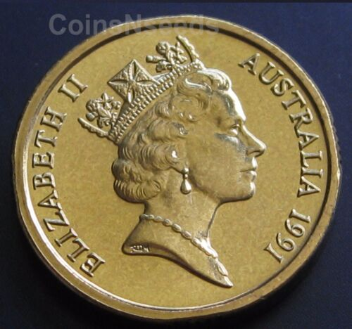 $2 Coin 1991 Aboriginal Elder Two dollar Australian Coin UNC in 2x2 holder