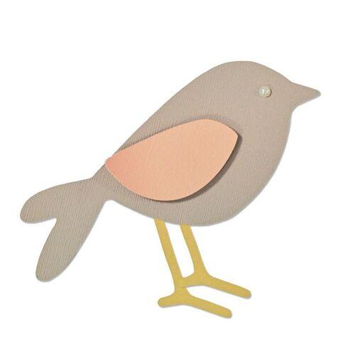 Fustella Uccellino Sizzix Bigz Big Shot Garden Bird 660873