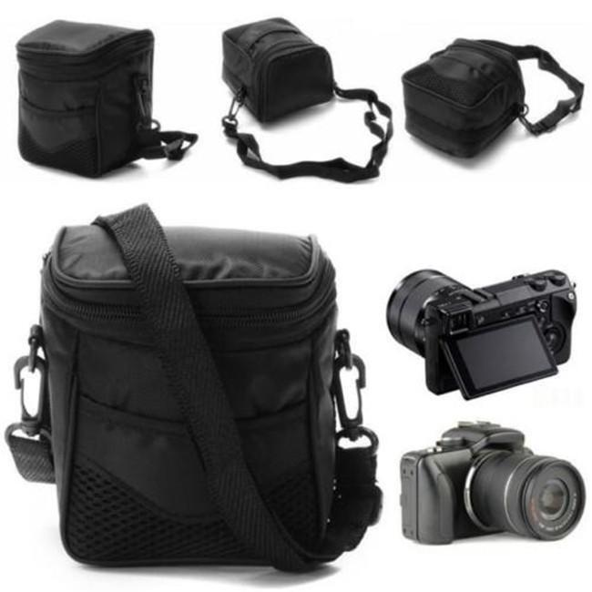 Travel Camera Case SLR Storage 1 Pcs Carry Black Portable Zipper Shoulder Bag