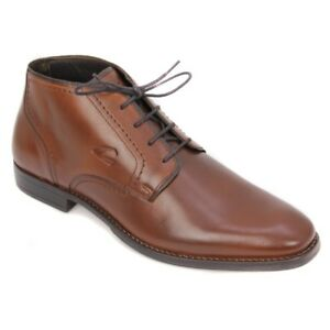 Camel-Active-Zapatos-Hombre-Botines-de-Cordones-Marron-como-427-22-01
