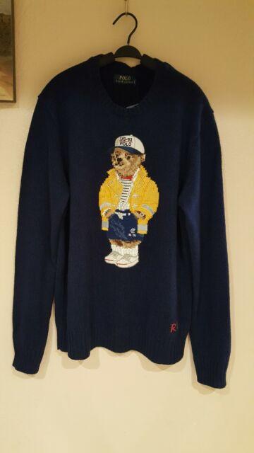 Polo Ralph Lauren Men's CP-93 Bear Classics Sweater - Size S