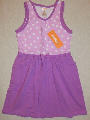 Gymboree DESERT DREAMS Girls Lavender Purple White Polka Dot Tank Dress NWT 5