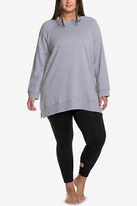 Soffe-Curves-Throwback-Crew-Sweatshirt-Gray-size-1X