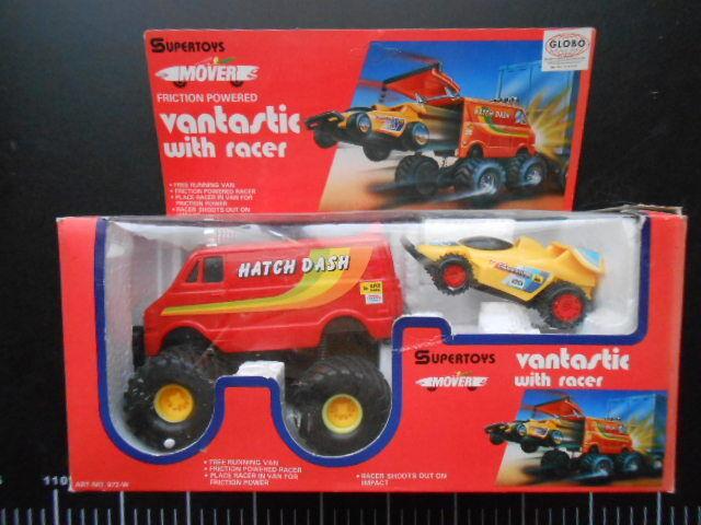 Vantastic  with Racer Supergiocattoli Globo  Auto Van Hatch Dash Friction Rare  il prezzo più basso