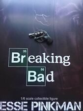Threezero Breaking Bad brba Jesse Pinkman desdeñar nariz pistola Suelto Escala 1/6th