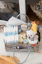 Toddler Baby Diaper Toy Caddy with FREE Changing Pad Nursery Items Storage Bag