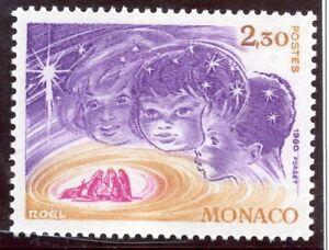 Stamp / Timbre De Monaco N° 1250 ** Noel / Enfants En Creche