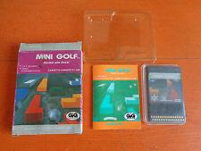 CASSETTA GAMATE LCD C1-006 GIG 1991 MINI GOLF OCCHIO ALLA BUCA! NUOVO