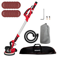 Ironmax Electric Drywall Sander 750w Variable Speed Withautomatic Vacuum Led Light