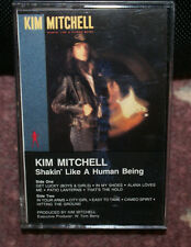 Kim Mitchell - Shakin' Like a Human Being 1986 Cassette OUT OF PRINT