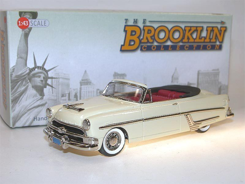 Brooklin Models BRK 140a 1954 Hudson Hornet Congreenible Cgoldnation Cream 1 43