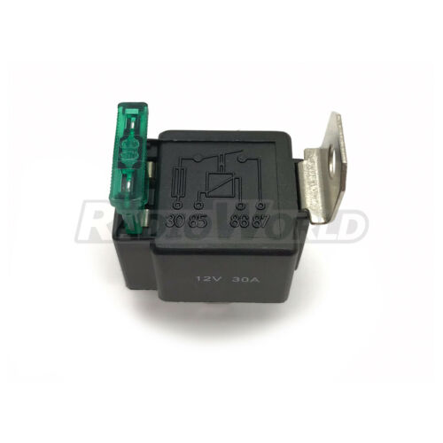 Fusible de encendido//apagado de 4 Pines Relevador 12v 30a normalmente Abierto contactos 30 Amp Auto Moto Camioneta