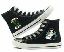 Riverdale Serpents Jughead Cartoon Canvas Shoes High Top Flat Unisex Lovers