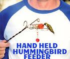 Hand Held Hummingbird Feeder Whimsy Wand MADE in  USA Songbird essentials WHWA