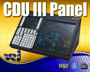 Details about CDU III - COMPUTER PANEL