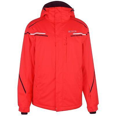 Nevica Brixen Jacket Mens Gents Ski Coat Top Full Length Sleeve High Neck Water