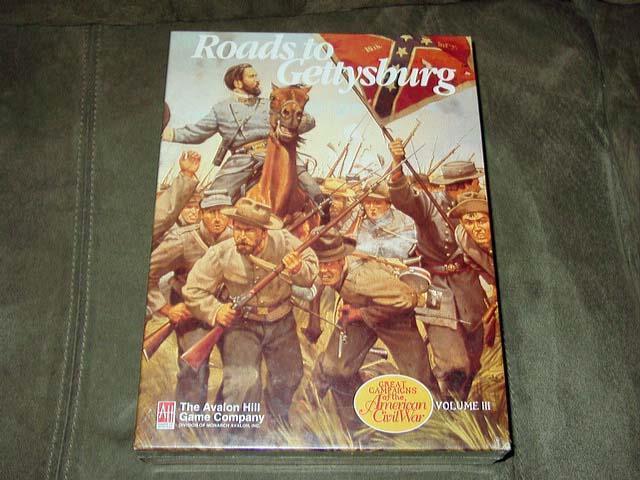 Avalon Hill –Vägar till Gettysburg –Stora kampanjen för det amerikanska inbördeskriget (SEALD)