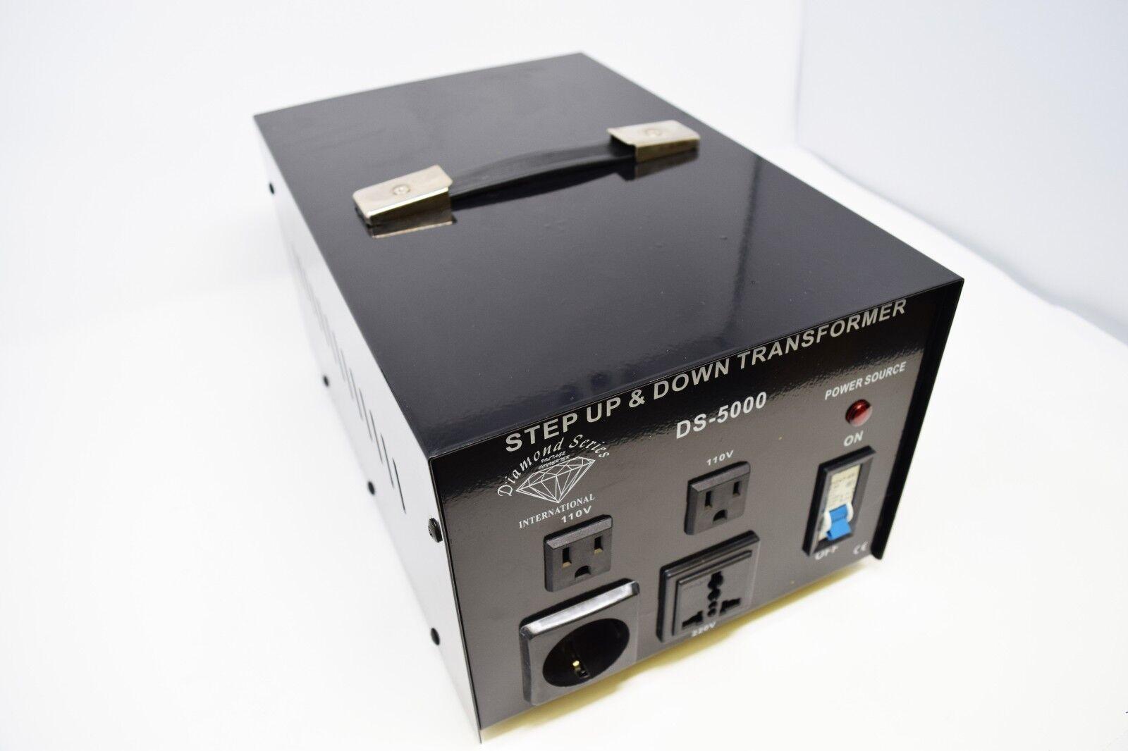 0-5000 Watt Step Up & Down Transformer #DS-5000