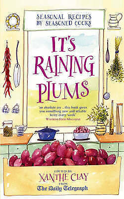 It's Raining Plums by Clay, Xanthe, Acceptable Book (Paperback) FREE & Fast Deli