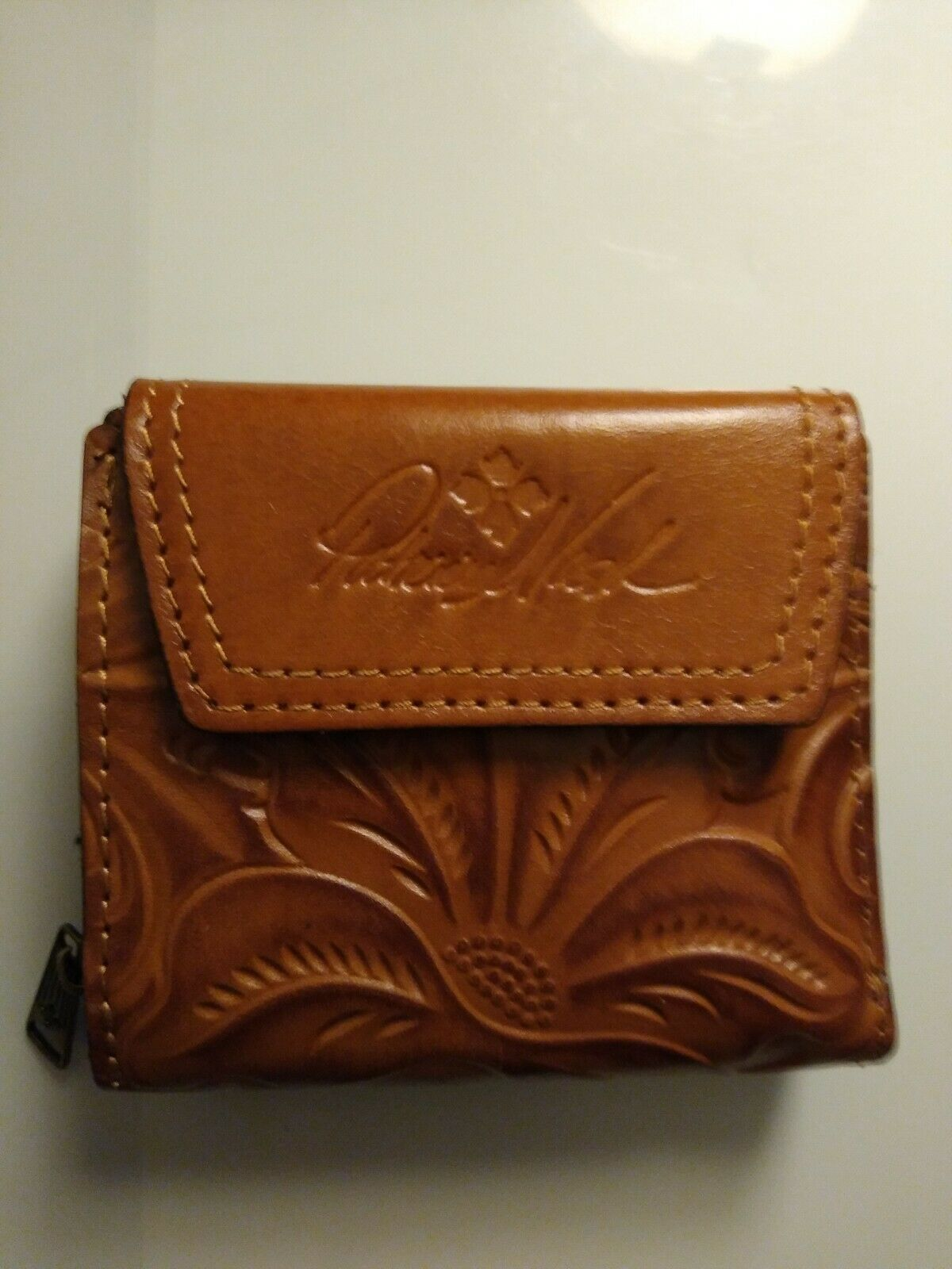 Patrica Nash Leather Wallet Nice!