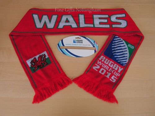 2015 Rugby World Cup Scarves England Wales Italy France Canada Webb Ellis More+