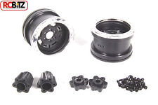 Axial 2.2 Trail Ready HD Series Beadlock w/Slim Ring IFD™ Wheels BLACK CHROME