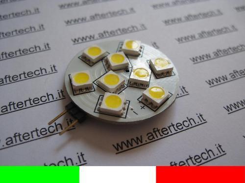 10x LOTTO 10 G4 LED LAMPADINA FARETTO 1.5W BIANCO CALDO WARM Weiß v3