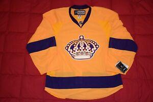 la kings reebok edge authentic hockey jerseys