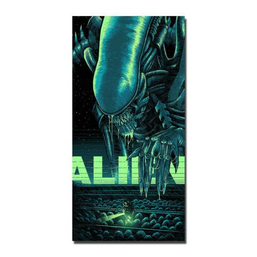 Alien Poster Movie Art Silk Fabric Poster 13x26 24x48 inch Home Decor J770