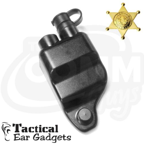 Replacement QUICK RELEASE ADAPTER for M//A-Com Radios EP528 Tactical Ear Gadgets