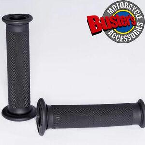 New-Renthal-Road-Race-Motorcycle-Handlebar-Grip-Firm-Grey-Compound-Grips-Pair