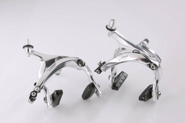nutted Set Tektro R559 R 559 Classic Bremsen in silber long reach  55-73 mm