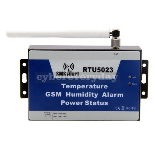 RTU5023 Wireless SMS Alert Alarm System Temperature Monitor GSM with  Sensor