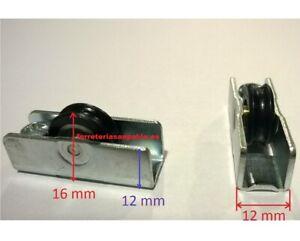 10 Ruedas De Ventanas Correderas Repuestos Aluminio Pvc Rodamientos Climalit1000 Ebay