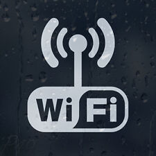 Wi Fi Antenna Sign Decal Vinyl Sticker For Shops Pubs Hotels Cafes Offices Bars