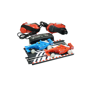 Wind-up racing set - fantastic fun - no battery required - educational toy - NEW