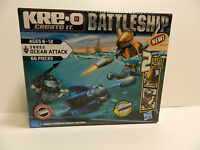 Kre-o Battleship Create It Ages6-12 38952 Ocean Attack 66 Pieces In Box