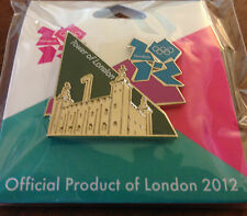 London 2012 Tower of London Olympic Pin