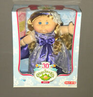 Cpk Cabbage Patch Kids Doll 2013 Limited Winter Edition Blonde Hair Blue Eyes