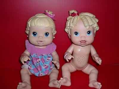 Baby Alive Doll Talks 2009 And 2008 Doll Lot Of 2 Baby