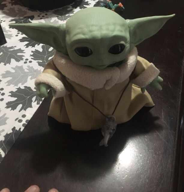 Star Wars Animatronic Baby Yoda The Child Adult Owned Smoke Free Perfect Gift 🎁