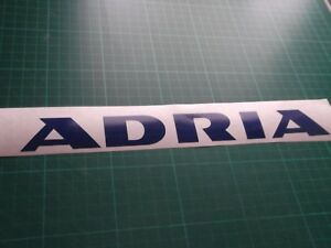2 X ADRIA   CARAVAN/MOTORHOME   STICKERS