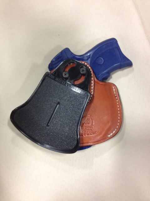 Leder PADDLE Holster  - RUGER / LC9/s / EC9/s / RUGER LC40 / LC380 with LASER ( 4230) 3a492c