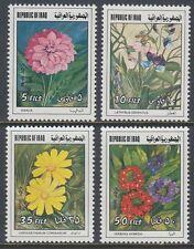Irak Iraq 1977 ** Mi.897/00 Blumen Flowers Flora Frühlingsfest Spring Festival