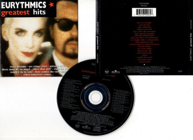 "EURYTHMICS ""Greatest Hits"" (CD) 1991  (743216520626)"