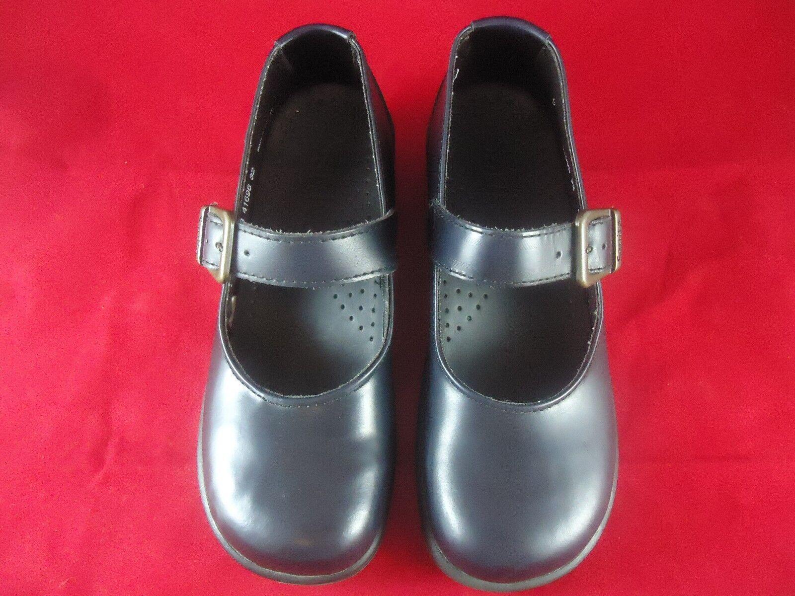 Sanita 41696 Correa Negro Negro Correa Para Mujer Zapatos Talla 37 nos 7-7,5 Envío rápido e6fc8b